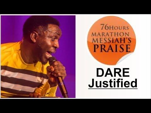 Dare Justified POWERFUL Praise @ 76 HOURS RCCG MARATHON MESSIAH'S PRAISE 2018