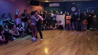 Framiversary Lindy Hop Finals 2018 - Galit Weinfeld and Tim
