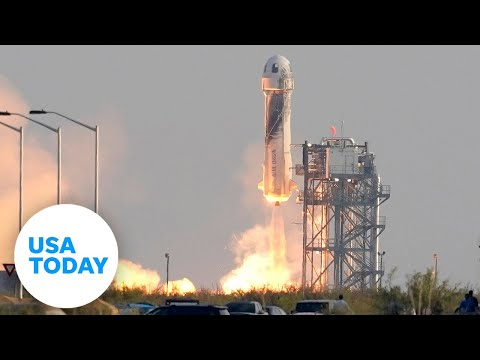Jeff Bezos launches into space aboard the New Shepard Spacecraft | USA TODAY