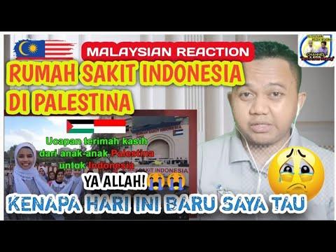 MALAYSIA🇲🇾 REACTION TO UCAPAN TERIMA KASIH ANAK-ANAK PALESTINA UNTUK INDONESIA | ALLAHUAKBAR!😭