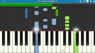 Merry Christmas Everybody - Slade Piano Tutorial