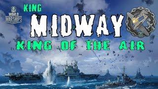 36K XP KING MIDWAY  294K 87 Plane Kills  World of Warships