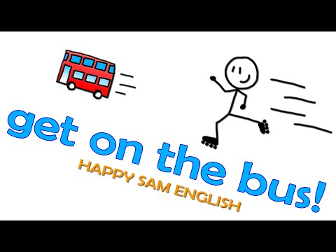 Get On The Bus! - A Simple Directions Song For Kids