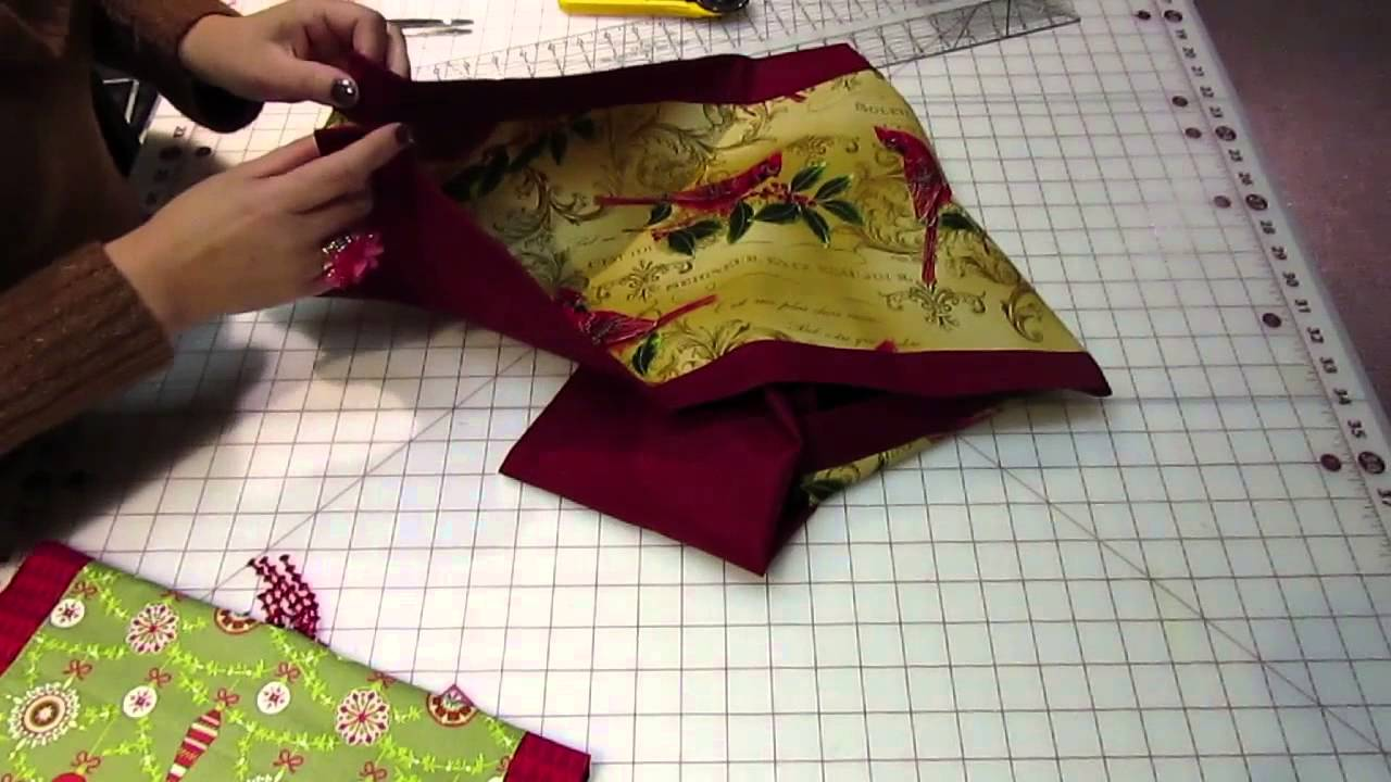 easy to make table runner youtube
