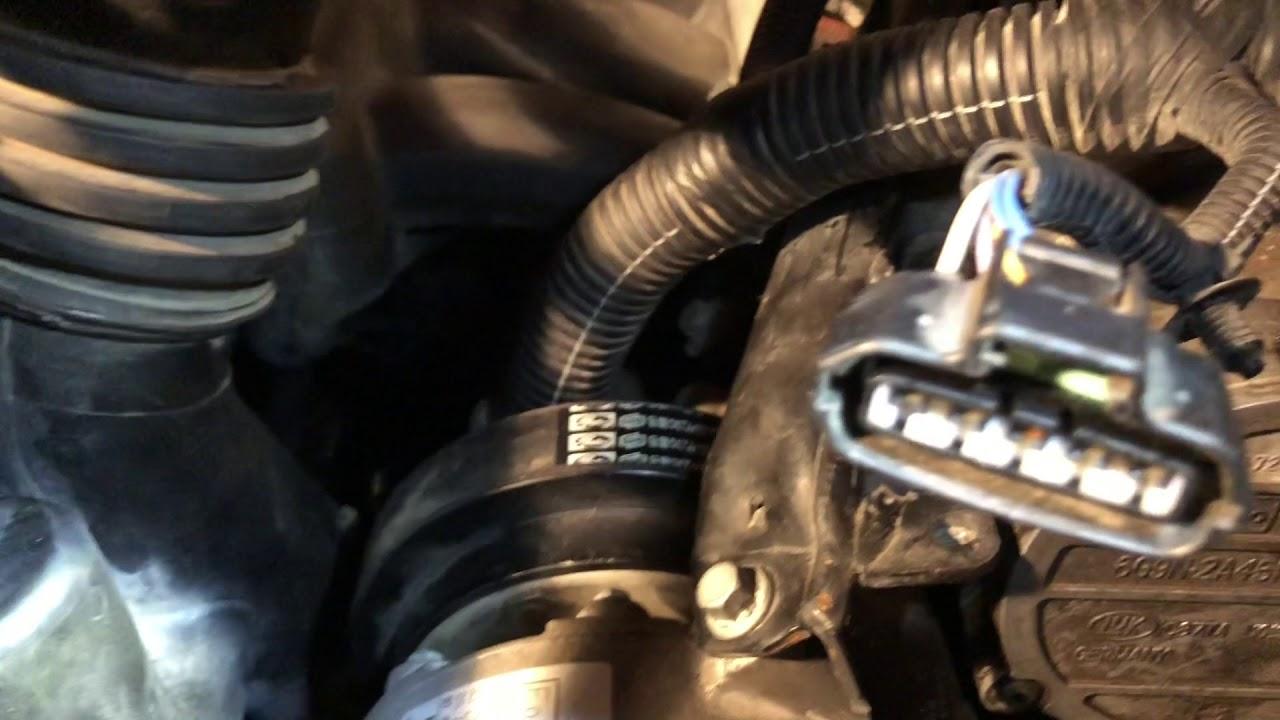 2009 land rover lr2 idler pulley install part 2 (volvo 3 2 i6 engine