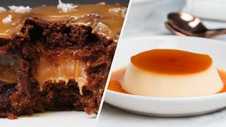 5 Desserts Delightfully Rich In Caramel • Tasty
