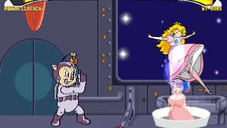 Princess Peach vs NT Mama MUGEN BATTLE