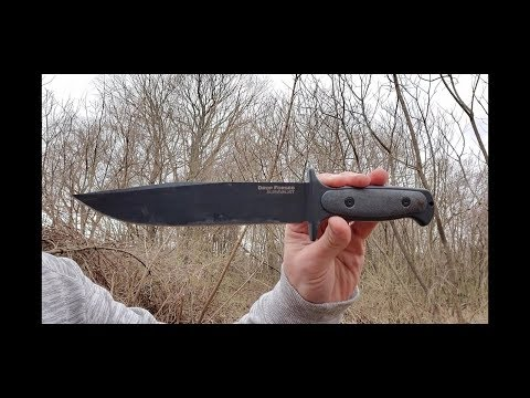 Cold Steel Drop Forged Survivalist knife review