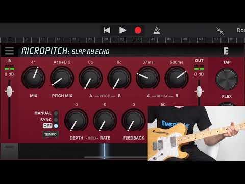 Blackhole Reverb, MicroPitch & UltraTap Delay for iPhone & iPad - Guitar presets by Vanny Tonon