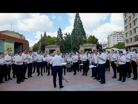 Pasacalles en San Saturio 2016 por Banda de Música de Soria