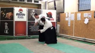 ushiro ryohijidori ikkyo [TUTORIAL] Aikido empty hand advanced techniques