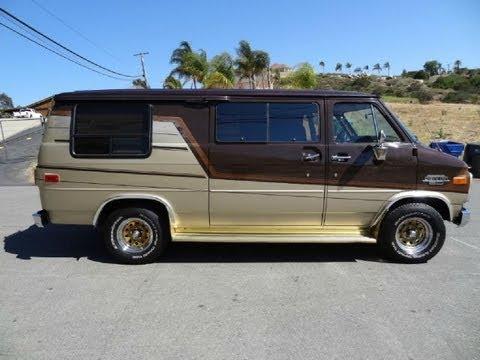 1986 Conversion Van RV Campervan G20 G10 Camper Video 65K Orig Miles Truck Vans SUV
