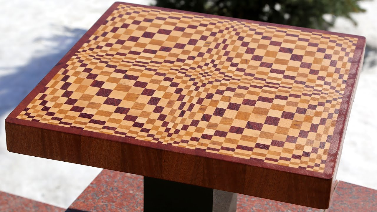 making a wave 3d end grain cutting board youtube. Black Bedroom Furniture Sets. Home Design Ideas