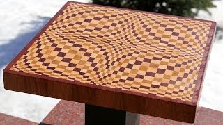 "Making A ""wave"" 3d End Grain Cutting Board"
