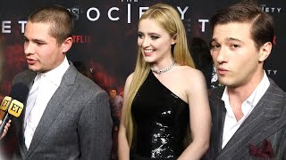 The Society Cast Dishes on Why Their New Series Is a Must-Binge! (Exclusive)