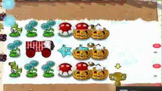 Plants vs Zombies hidden mini-game, unsodded