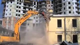 видео Проект организации сноса домов и зданий