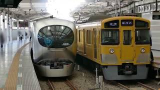 【西武鉄道】001系試運転西武新宿駅到着【新型特急】