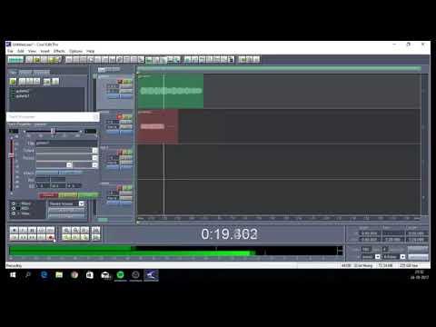 Como grabar multipistas o multitrack en Cool Edit