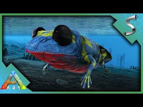 DART FROG AND VELOCIRAPTOR BREEDING! - Ark: Jurassic Park [E17]