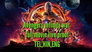 Avengers infinity war download in Telugu