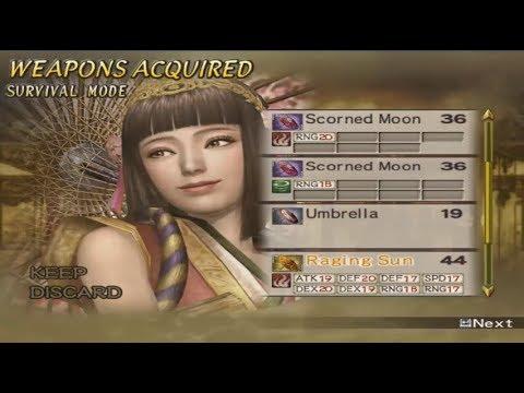 Samurai Warriors 2 PC - Okuni 4th Weapons