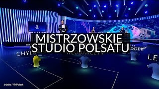 Polsat Sport inauguruje Ligę Mistrzów w ultranowoczesnym studio