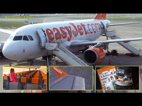 EasyJet Airbus A319 Hamburg to Milan Malpensa [AirClips full flight series]