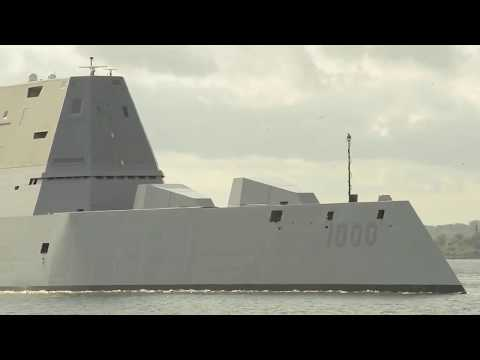 Top Life Aboard USS Zumwalt • America's Most Advanced Warship 2018 the top facts