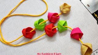 Sooo cute and Beautiful latkan making very easily