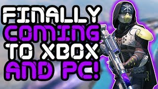 Destiny 2 - Playstation Exclusive FINALLY Coming to Xbox and PC!! thumbnail