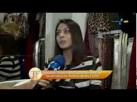 tv fama Exclusivo Carol Castro explica declara o polemica 14 01 2014 mircmirc