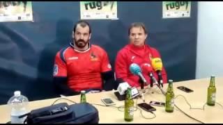 Rueda de prensa España 10-20 Georgia en Medina del Campo