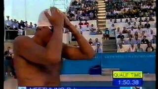 1998 World Swimming Championships - Mens 200m Freestyle
