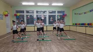 """Здоровьесберегающие технологии.Танец с гимнастическими палками """"часики"""""""