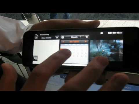 LG GW990 MID Пользовательский Интерфейс MeeGo Maemo
