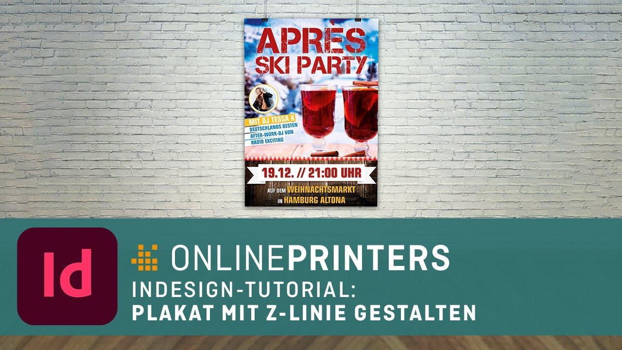 InDesign-Tutorial: Plakat gestalten leicht gemacht - YouTube