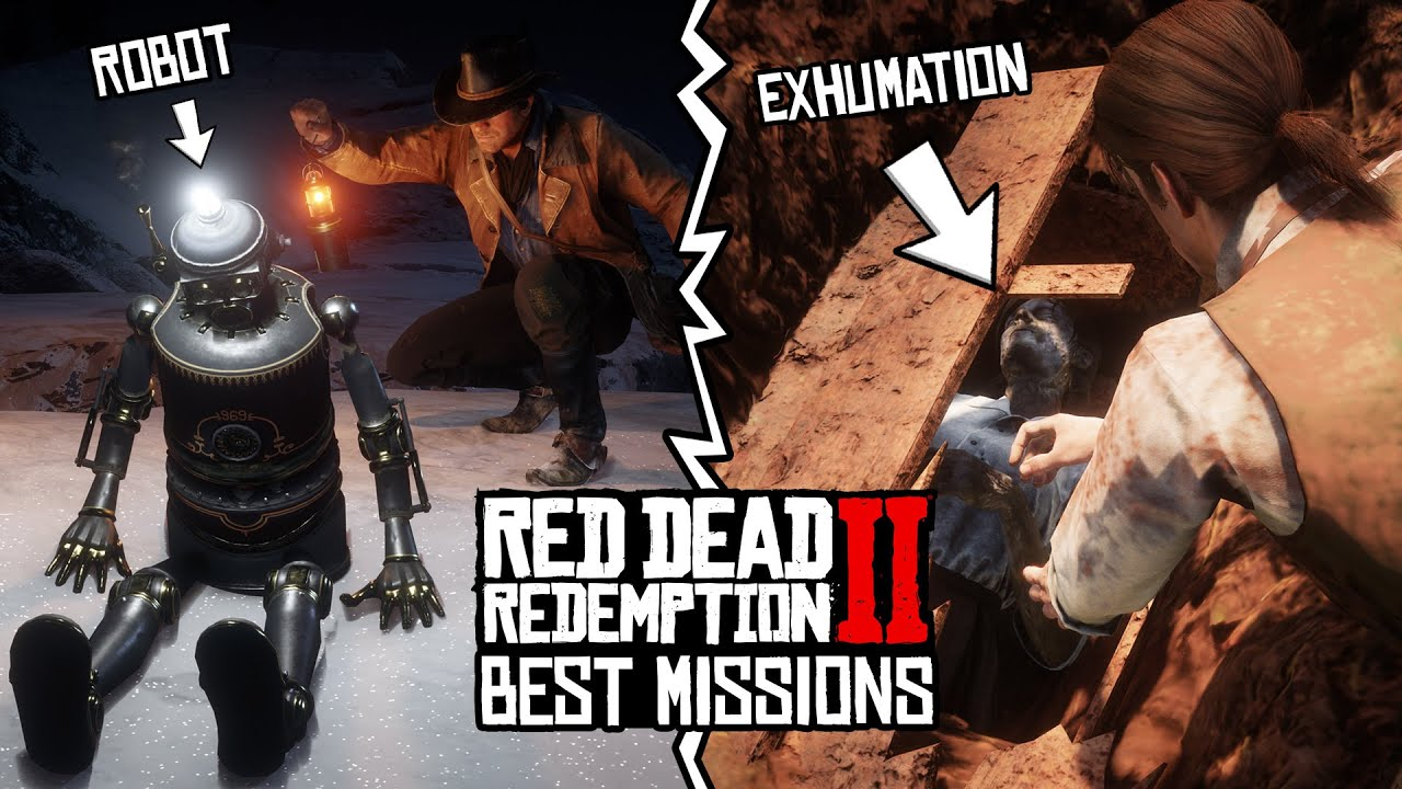 Red Dead Redemption 2 - Best Missions! (TOP 5)