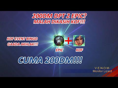 modal-200dm-dapet-2-skin-epic???-ya-bisa-lah!!!- -kingoffighter-bingo-gacha-mobile-legends:bang-bang
