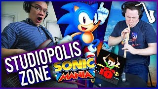 Sonic Mania: Studiopolis Zone (Act 1) Jazz Cover (feat. The8BitDrummer)