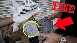 TRYING TO SELL US FAKE YEEZYS FOR $135 (EXPOSED)