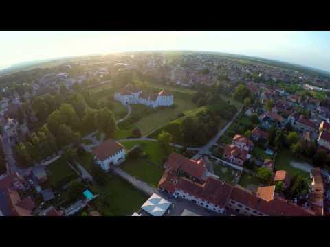 Varaždin iz zraka - panoramski video - GoPro Hero 4 Black on DJI