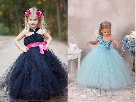 Vestidos De Tul Para Niñas Espectaculares