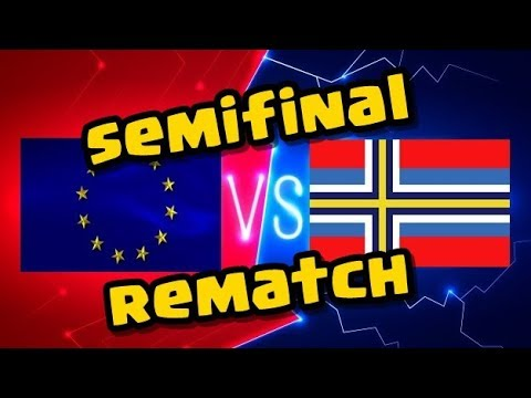 15x 10v10 TRIPLE !Team Northern Europe v Scandinavia - CWL Olympics Semifinals
