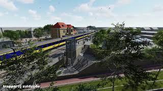 Auto te gast-tunnel Stationsstraat - Julianastraat Gilze Rijen mei 2019