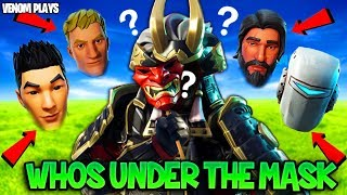 Fortnite: WHO is BEHIND the SHOGUN Samurai Skin FACE REVEAL!