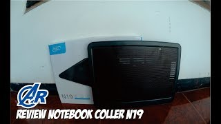 REVIEW NOTEBOOK COLLER - DEEPCOOL N19