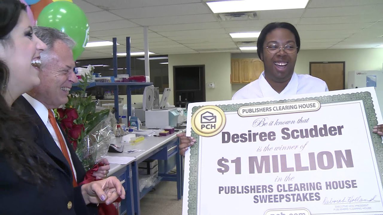 Pch October 23rd 1 Million Winner Desiree Scudder Youtube