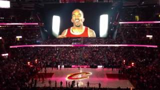 Cavs pregame introduction 11/18/16