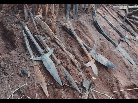 REB Digs; Rare Civil War Confederate Weapons Cache Found From Potter